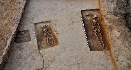 Esqueletos de la era Harappa descubiertos en India