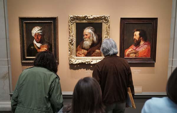 Los Tres Reyes Magos de Rubens.