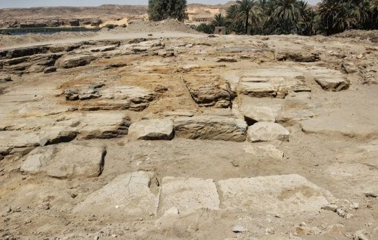 Arqueólogos han encontrado un antiguo templo en Gebel el Silsila. Crédito: Gebel el Silsila Survey Project