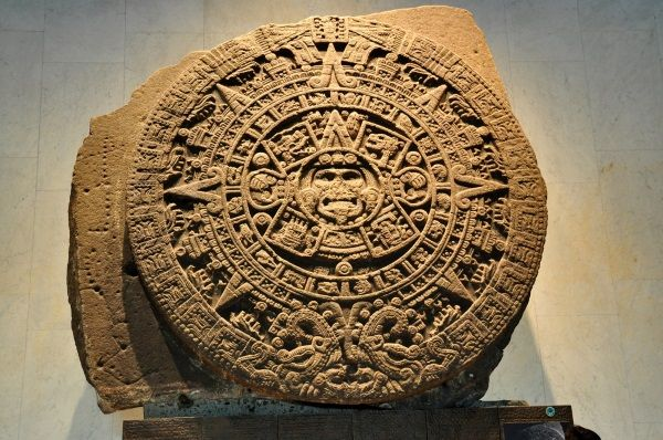 Calendario Azteca. Foto: Shutterstock