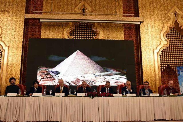 """Presentación del proyecto """"Scan Pyramids"""""""