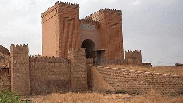 Puerta de Mashqui, en Nínive. Crédito: Creative Commons.