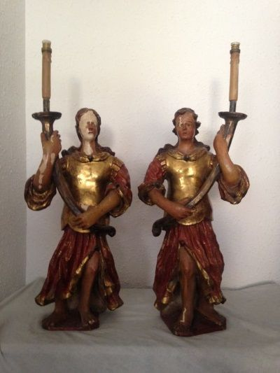 candelabros españoles siglo xviii