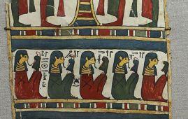 cartonaje momia egipcia ptolemaica