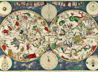 mapa constelaciones signos zodiaco