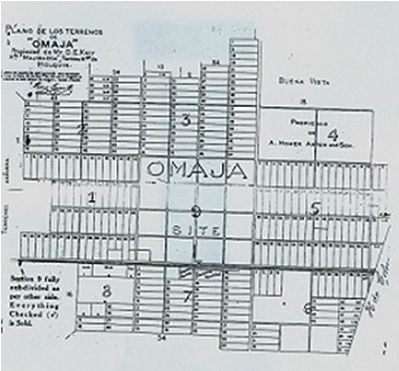 mapa colonia omaja cuba