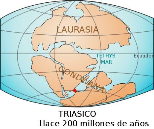 supercontinente pangea gondwana y laurasia