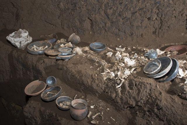 objetos tumba del atleta roma