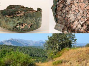 tesoro valsadornin monedas romanas