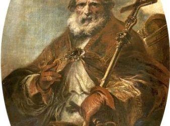 retrato leon i el magno papa
