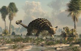 ankylosaurus dinosaurio