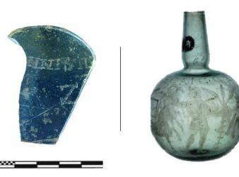 botella romana con mensaje