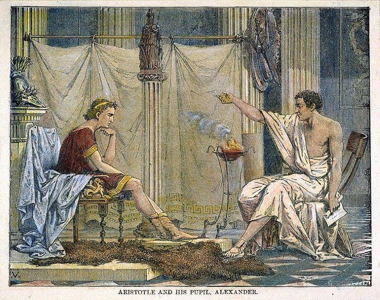 alejandro magno discipulo aristoteles