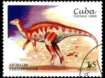 bactrosaurus dinosaurio