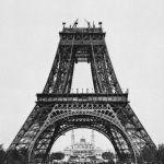 montaje segunda plataforma torre eiffel