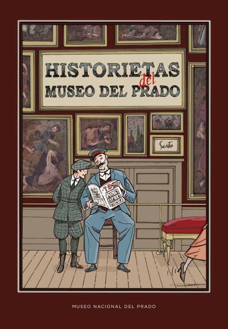 portada comic historietas del museo del prado