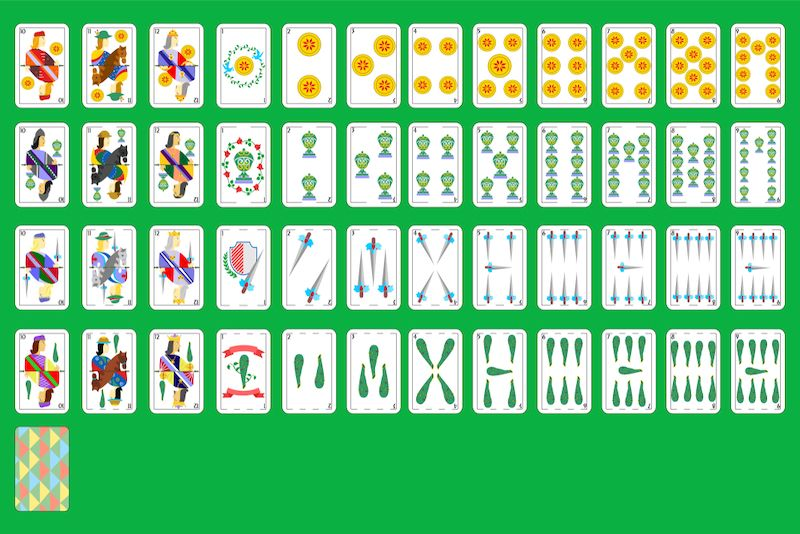 испанская игральная карта
