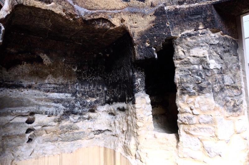 replica cueva risco caido