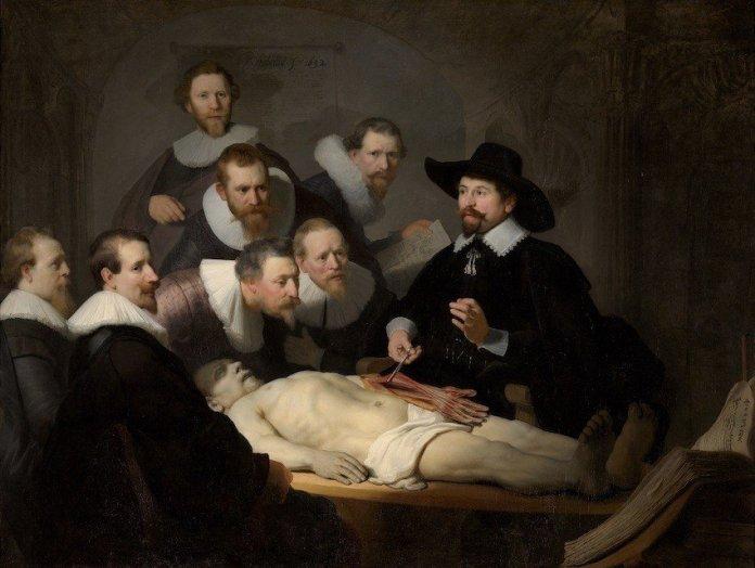 rembrandt Lección de anatomía del Dr. Nicolaes Tulp