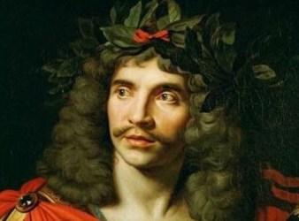 retrato de moliere