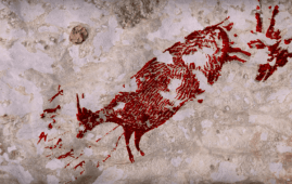 pinturas rupestres indonesia