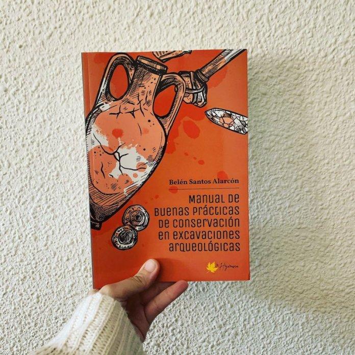 portada manual excavacion arqueologica belen santos