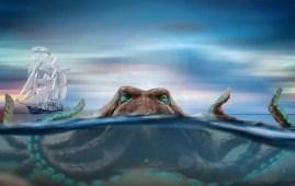 leyenda nordica del kraken