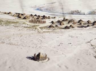 pozos neoliticos stonehengue