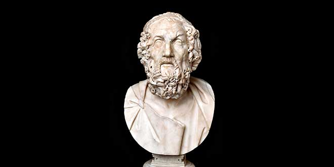 homero poeta griego
