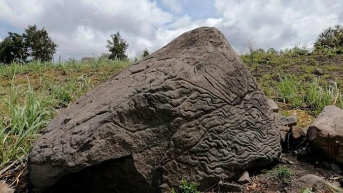 petroglifo mexico 2000 años