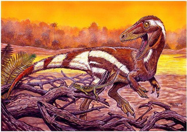 recreacion Aratasaurus museunacionali