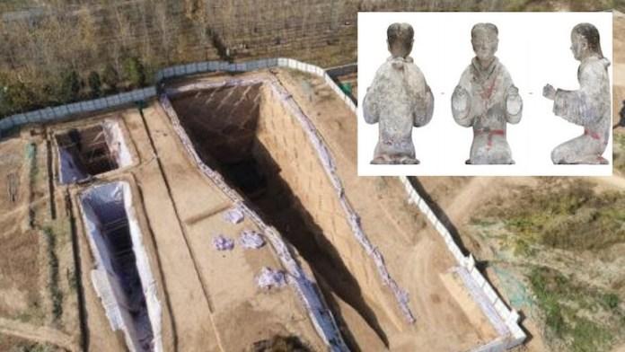 descubren 27 tumbas edad de oro china