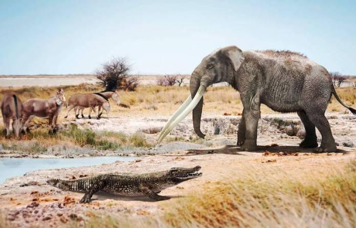 antepasados de los cocodrilos