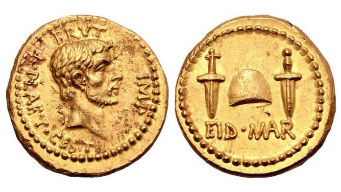 moneda muerte julio cesar