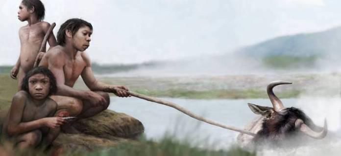 primeros humanos cocinaban con aguas termales