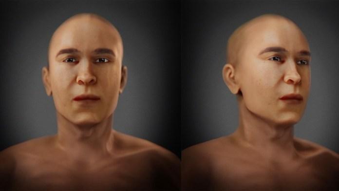 reconstruccion rostro akenaton
