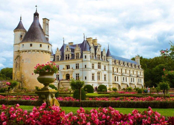 castillo Chenonceau francia loira