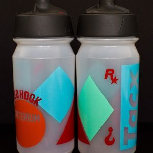 The new Red Hook Crit x Tacx series water bottle Available tomorrow in the merch booth! design: @jonahbirns