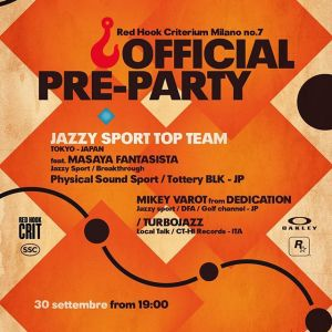 The official Red Hook Criterium Milano No.7 Pre Party is tonight at the Santeria Social Club Free beer graciously provided by Oakley! (while supplies last) The music is going to be great with Jazzy Sport Top Team (all the way from Tokyo) and the resident SSC spinner Turbojazz 7pm on Friday, September 30