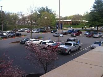 Demoss Hall Parking
