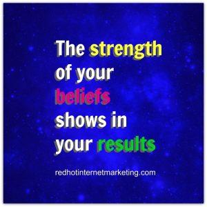 beliefs get results dan kennedy