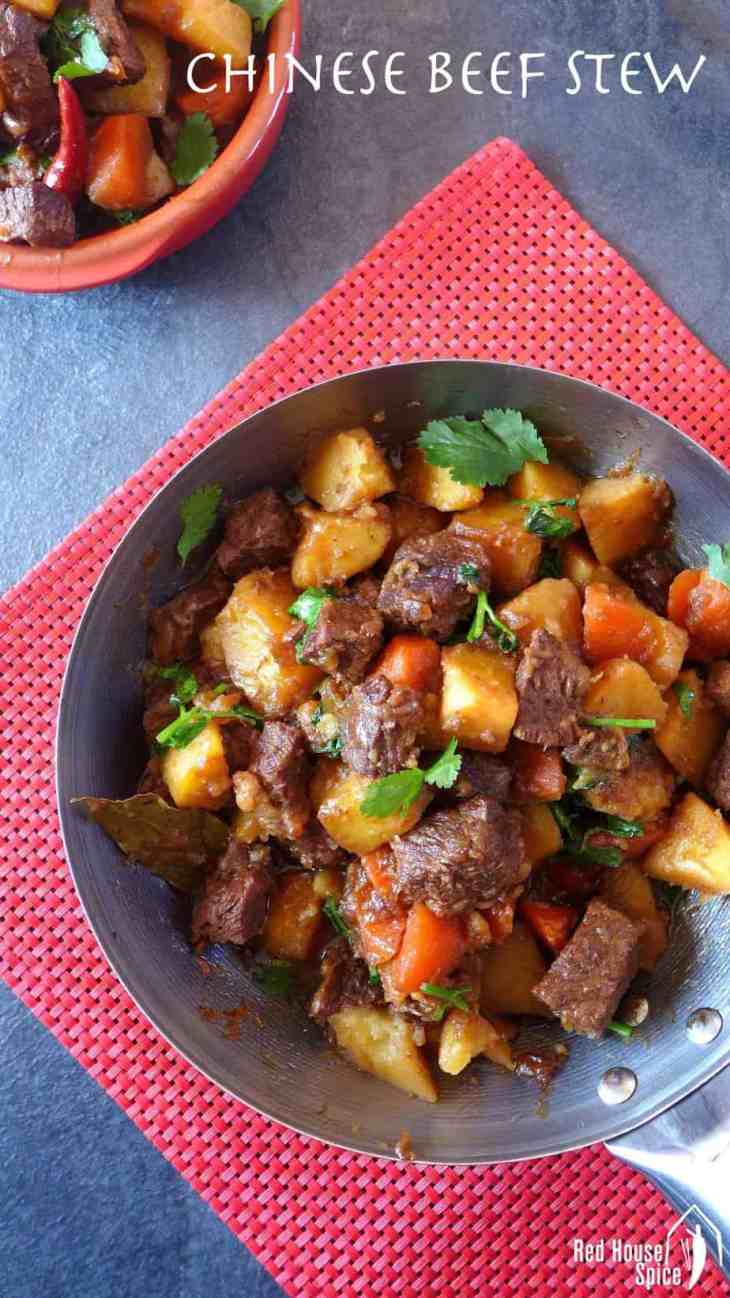 Spice up cold winter days with a pot of Chinese spiced beef and potato stew. Easy preparation with intense flavour. Great dish for sharing.