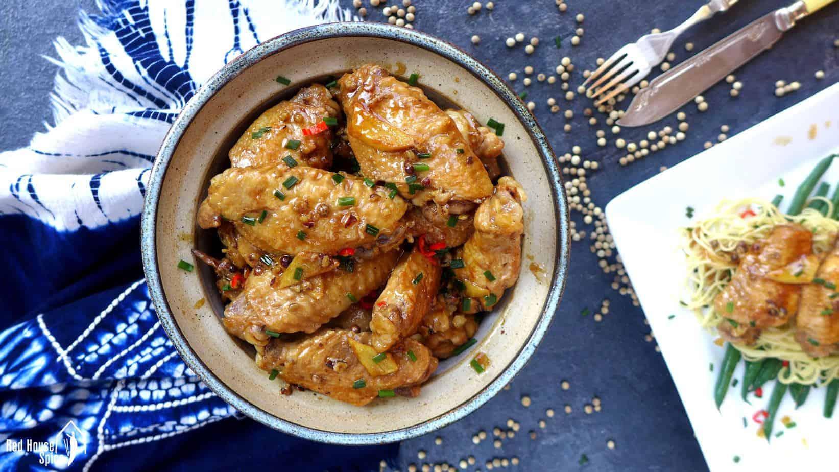 Fuss-free braised chicken wings