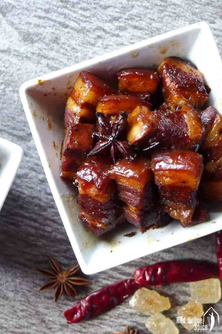 Classic dish, simplified version. This red cooked pork belly recipe is hassle-free and fool-proof. Perfect for all occasions.