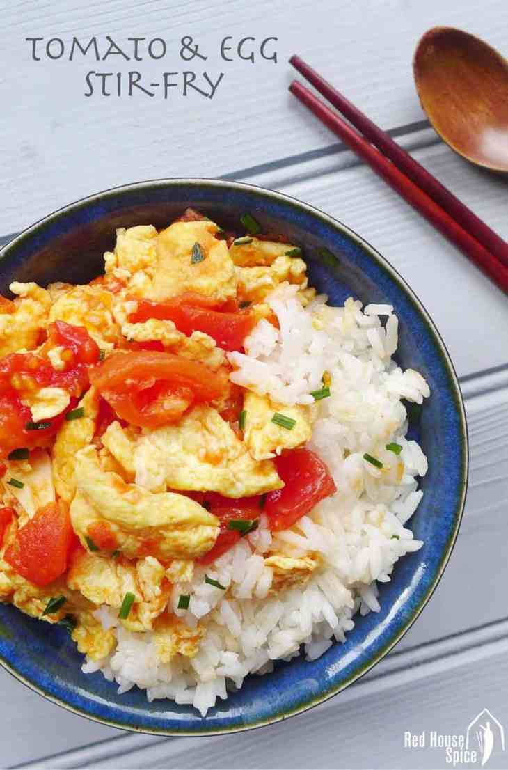 Only three common ingredients needed! Simple yet delicious, tomato and egg stir-fry is truly a national dish adored by every family in China.
