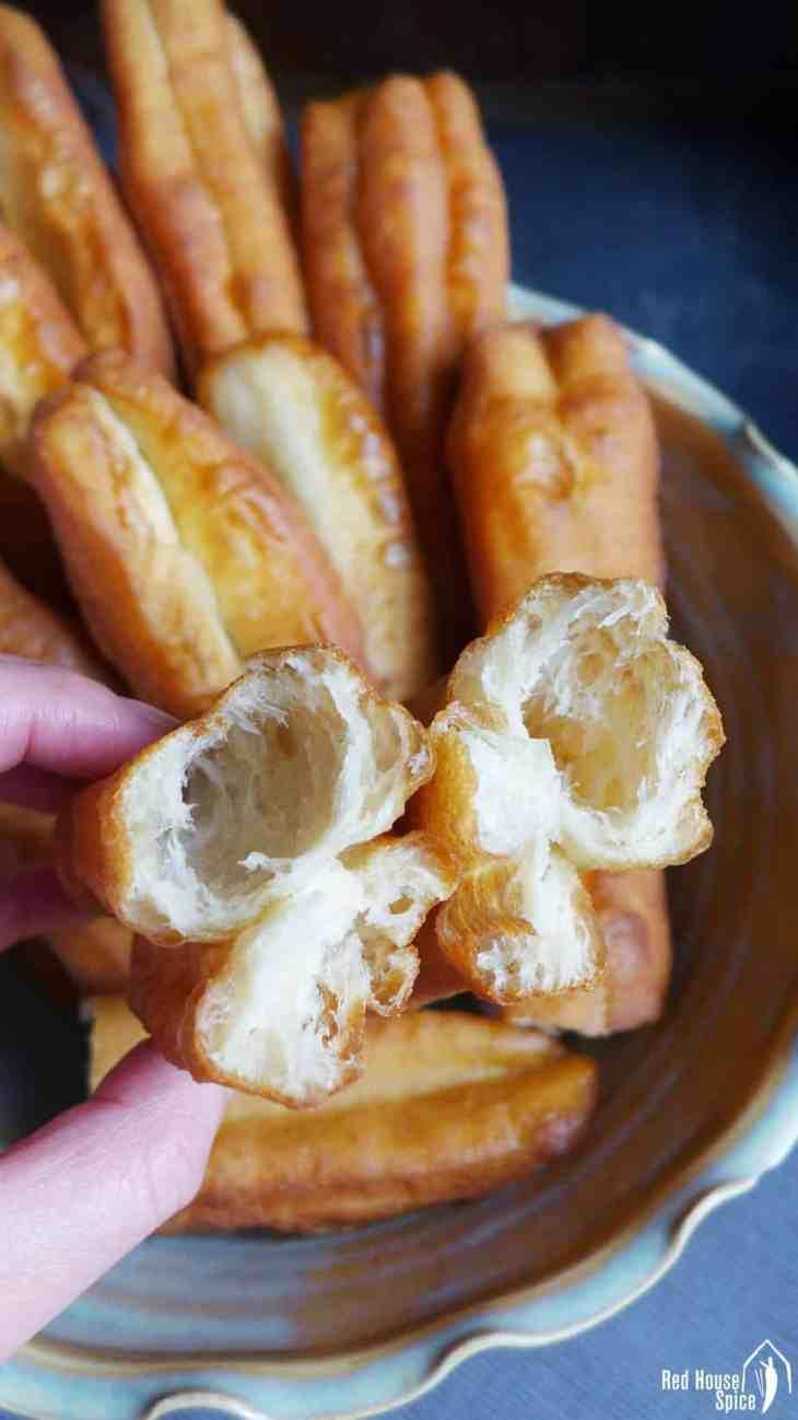 Chinese doughnut stick (Youtiao, 油条)