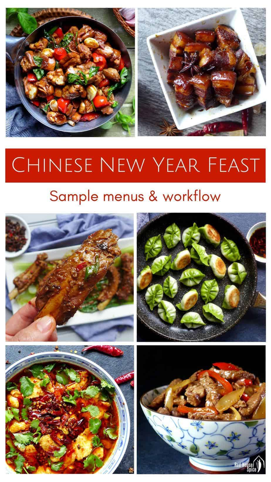 Dishes for the 2018 New Year 98