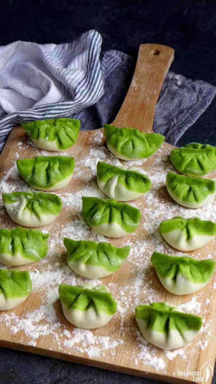 how to make pan fried dumplings from scratch