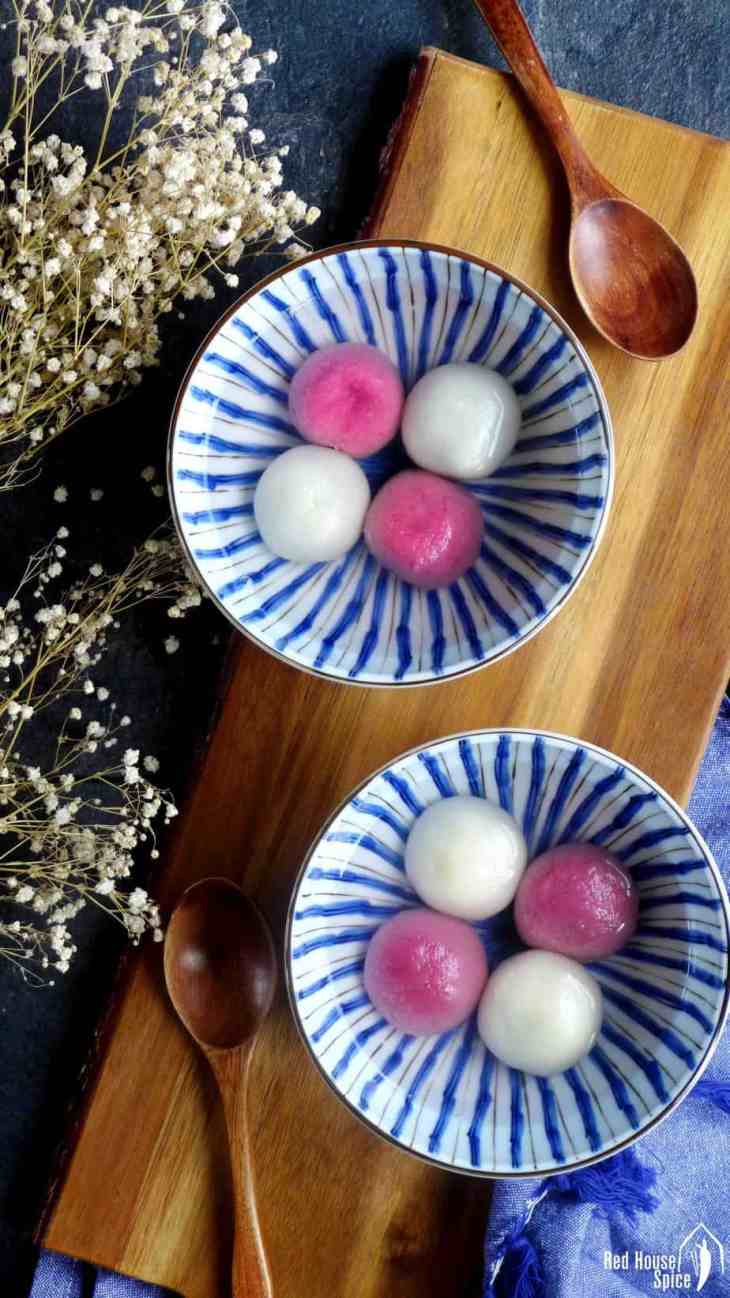 Tang Yuan, Chinese glutinous rice balls (汤圆) - Red House Spice