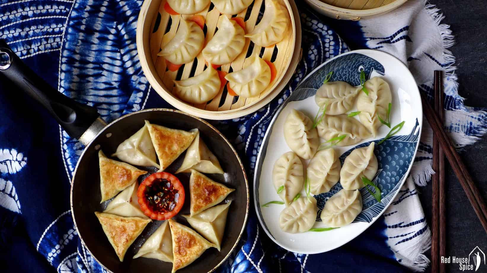 Cook dumplings in three ways (Ultimate Dumpling Guide part 4)